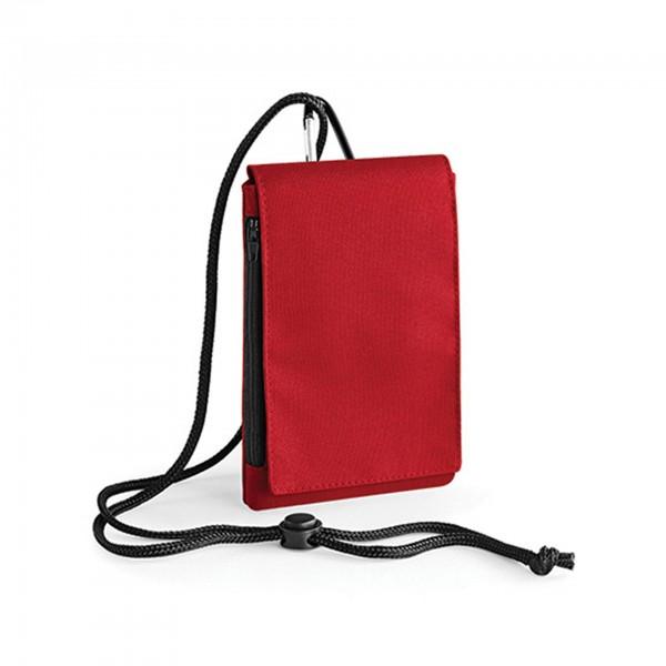 Smartphonetasche mit extra Fach, 100% Polyester