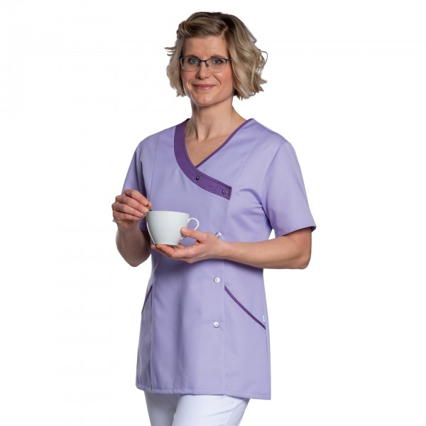 Vorderschlusskasack Vicky in Tencel® für Damen, 60°C