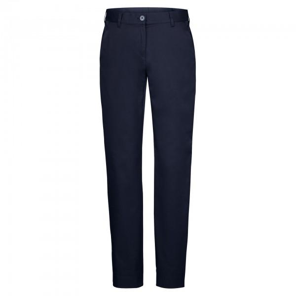 Damen-Chino Nele, 40% Baumwolle / 30% Polyester/ 30% Elast